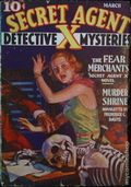 Secret Agent X (1934-1939 Periodical House) Pulp Mar 1936