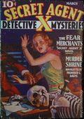 Secret Agent X (1934-1939 Periodical House) Pulp Mar 1936