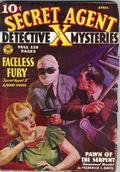 Secret Agent X (1934-1939 Periodical House) Pulp Apr 1936