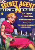 Secret Agent X (1934-1939 Periodical House) Pulp Oct 1936