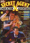 Secret Agent X (1934-1939 Periodical House) Pulp Dec 1936