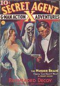 Secret Agent X (1934-1939 Periodical House) Pulp Apr 1937