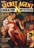 Secret Agent X (1934-1939 Periodical House) Pulp Oct 1937