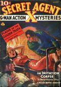 Secret Agent X (1934-1939 Periodical House) Pulp Dec 1937