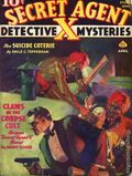 Secret Agent X (1934-1939 Periodical House) Pulp Apr 1938