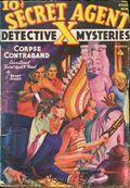 Secret Agent X (1934-1939 Periodical House) Pulp Dec 1938