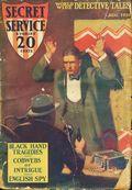 Secret Service Stories (1927-1928 Carwood Publishing) Pulp Vol. 2 #4