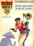 Secret Service Stories (1927-1928 Carwood Publishing) Pulp Vol. 2 #5