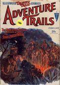 Illustrated Danger Trail Stories Adventure Trails (1929 Clayton Magazines) Vol. 13 #1