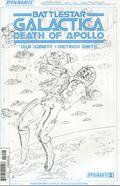 Battlestar Galactica Death of Apollo (2014 Dynamite) 1I
