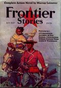 Frontier Stories (1924-1953 Doubleday/Fiction House) Pulp Vol. 7 #1