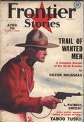 Frontier Stories (1924-1953 Doubleday/Fiction House) Pulp Vol. 10 #12