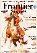 Frontier Stories (1924-1953 Doubleday/Fiction House) Pulp Vol. 12 #4