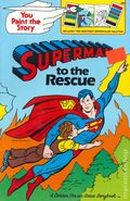 Superman to the Rescue SC (1980 Golden Book) A You Paint the Story Book 1-REP