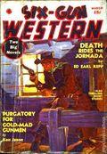 Six-Gun Western (1937-1938 Manvis Publications) Pulp Vol. 1 #2