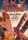 Sky Birds (1929-1935 Magazine Publishers) Pulp Aug 1929