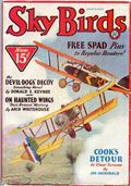 Sky Birds (1929-1935 Magazine Publishers) Pulp Jan 1933