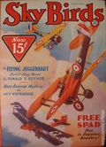 Sky Birds (1929-1935 Magazine Publishers) Pulp Feb 1933