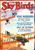 Sky Birds (1929-1935 Magazine Publishers) Pulp Apr 1933