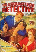 Headquarters Detective (1936-1937 Magazine Publishers) Pulp Vol. 20 #4