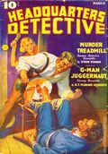 Headquarters Detective (1936-1937 Magazine Publishers) Pulp Vol. 21 #1