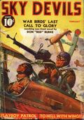 Sky Devils (1938-1940 Red Circle) Pulp Vol. 2 #1