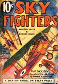 Sky Fighters (1932-1950 Standard) Pulp Vol. 10 #1