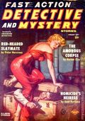 Fast Action Detective and Mystery Stories (1957-1958 Columbia Publications) Pulp Vol. 5 #4