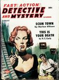 Fast Action Detective and Mystery Stories (1957-1958 Columbia Publications) Pulp Vol. 6 #1