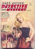 Fast Action Detective and Mystery Stories (1957-1958 Columbia Publications) Pulp Vol. 6 #2