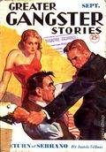 Greater Gangster Stories (1933-1934 Publishing Corp.) Pulp Vol. 10 #1