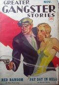 Greater Gangster Stories (1933-1934 Publishing Corp.) Pulp Vol. 10 #2