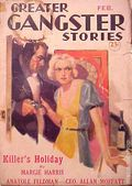 Greater Gangster Stories (1933-1934 Publishing Corp.) Pulp Vol. 11 #1