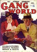 Gang World (1933-1934 Spencer Publications) Pulp 2nd Series Vol. 1 #1