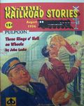On-Time Railroad Stories (1996 Adventure House) Pulp Vol. 1 #3
