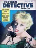 Fifteen Detective Stories (1953-1955 Popular Publications) Pulp Vol. 21 #3