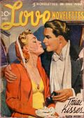 Love Novelettes Magazine (1940-1941 Popular Publications) Pulp Vol. 2 #1