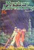 Mystery Adventure Magazine (1936-1937 Fiction Magazines) Pulp Vol. 4 #4