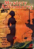 Mystery Adventure Magazine (1936-1937 Fiction Magazines) Pulp Vol. 5 #1