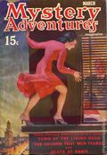 Mystery Adventure Magazine (1936-1937 Fiction Magazines) Pulp Vol. 5 #3