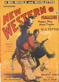 New Western Magazine (1934-1937 Two-Books Magazines) Pulp 1st Series Vol. 1 #1
