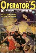 Operator #5 (1934-1939 Popular Publications) Pulp Vol. 4 #4