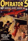 Operator #5 (1934-1939 Popular Publications) Pulp Vol. 5 #1