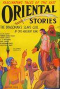 Oriental Stories (1930-1932 Popular Fiction) Pulp Jul 1931