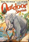 Outdoor Stories (1927-1928 Street & Smith) Pulp Vol. 2 #6
