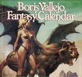 Boris Vallejo Fantasy Calendar (1979-1999 Workman) Mythology Calendar YR:1983