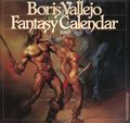 Boris Vallejo Fantasy Calendar (1979-1999 Workman) Mythology Calendar YR:1986
