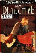 Gem Detective (1946 H.C. Blackerby) Pulp Vol. 1 #1
