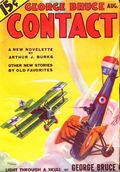 George Bruce's Contact (1933-1934 Adventure House) Pulp Vol. 1 #1