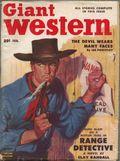 Giant Western (1947-1953 Standard Magazines) Pulp Vol. 9 #1